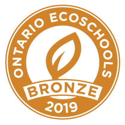 EcoSchool Certified bronze